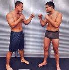 Вячеслав одержал победу над Ростовским бойцом Митрием Медведевым на 0:49 секунде 2 раунда
