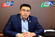 Президент Федерации смешанного боевого единоборства (ММА) Республики Башкортостан Руслан Зарипов