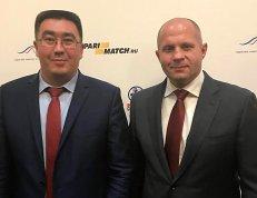Руслан Зарипов и Федор Емельяненко.