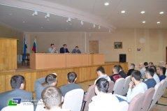 16 ноября, в субботу, в актовом зале Башкортостанстата состоялась встреча нового руководства Федерации смешанного боевого единоборства ММА РБ с представителями клубов из разных уголков нашей республики.