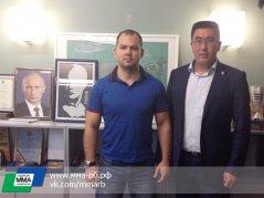 Президент Федерации СБЕ (ММА) Республики Башкортостан Руслан Зарипов посетил Москву с рабочим визитом