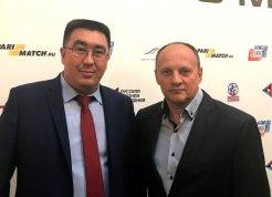 Руслан Зарипов и Геннадий Капшай.