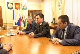 Представители ФСБЕ (ММА) РБ встретились с главой Администрации ГО город Уфа Иреком Ялаловым