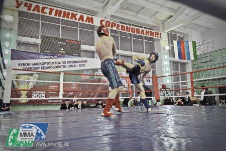 В Уфе прошел Кубок РБ по ММА