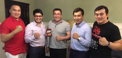 Президент Федерации СБЕ (ММА) РБ Руслан Зарипов с рабочим визитом посетил Республику Казахстан.