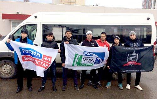 Спортсмены Федерации ММА Башкортостана участвуют на Чемпионате ПФО