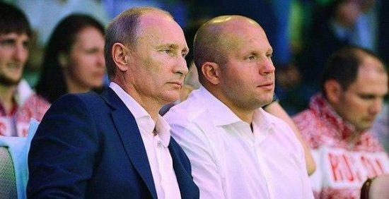 Федор Емельяненко стал доверенным лицом В.В. Путина