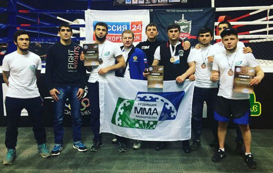 Башкирские бойцы ММА завоевали четыре медали на чемпионате ПФО