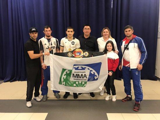 Башкирские спортсмены вернулись из Самары с поясом победителя Кубка России!